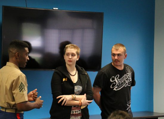 Learners Honored by United States Marines